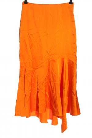 & other stories Falda midi naranja claro look casual