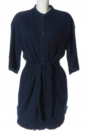 & other stories Minikleid blau meliert Casual-Look