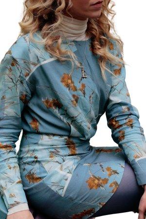& other stories Minikleid mehrfarbig schlichter Stil