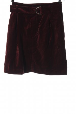 & other stories High Waist Skirt red casual look
