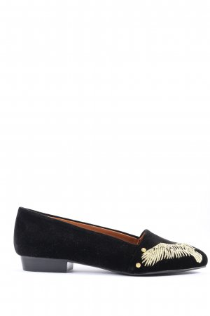 & other stories Moccasins black-gold-colored themed print casual look