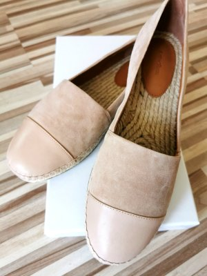 Other Stories neue Leather Toe Espadrilles Dusty Fisherman shoes
