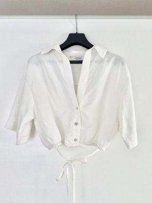& Other Stories Oberteil Bluse Hemd Crop Top Leinen Ausverkauft Blogger