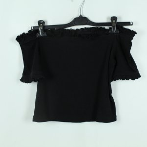 & other stories Off-Shoulder Top Gr. 40 schwarz gerippt (20/06/065)