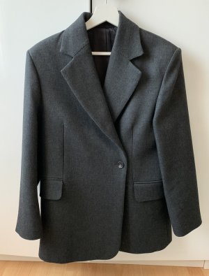 & other stories Blazer de lana gris oscuro-gris antracita Lana