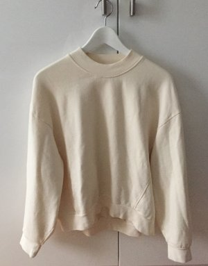 & Other Stories Oversize Sweatshirt cremeweiß