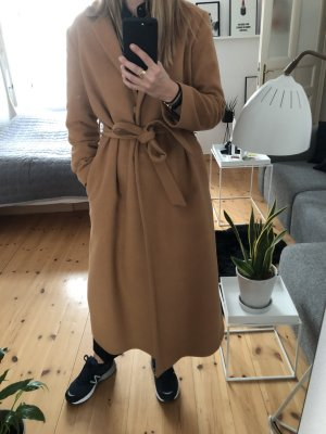 & other stories oversized Maxi coat Wolle braun 36 sold out