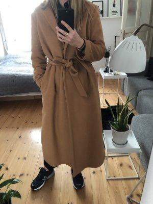 & other stories Floor-Lenght Coat brown wool
