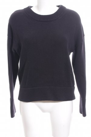 & other stories Oversized Pullover blau Casual-Look