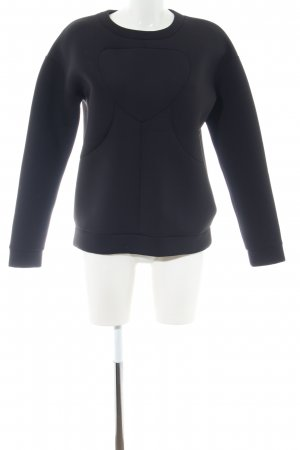 & other stories Oversized Pullover schwarz Casual-Look