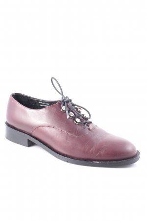 & other stories Oxfords bordeaux boyfriend stijl