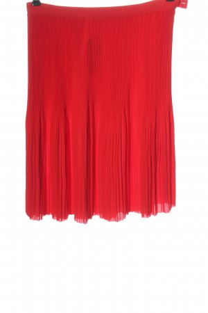 & other stories Geplooide rok rood casual uitstraling