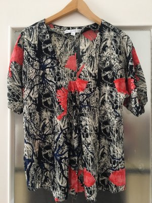 & other stories Short Sleeved Blouse multicolored