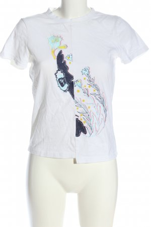 & other stories Camiseta estampada multicolor look casual