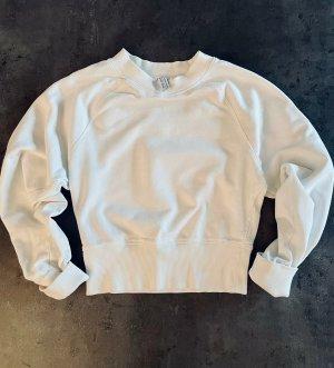 & other stories Sweter z okrągłym dekoltem biały-w kolorze białej wełny
