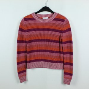 & OTHER STORIES Pullover Gr. XS rosa gestreift (19/09/432)