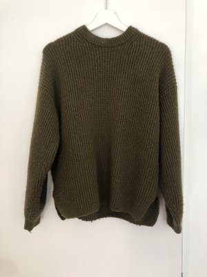 & other Stories Pullover in oliv/khaki