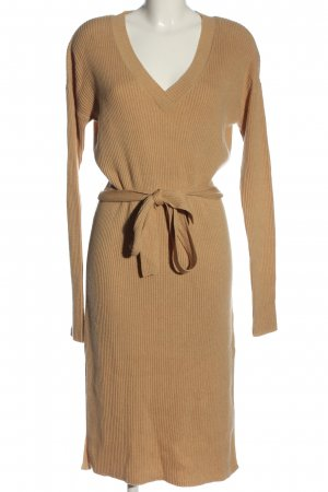 & other stories Vestido tipo jersey nude look casual