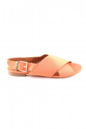 & other stories Strapped High-Heeled Sandals light orange casual look