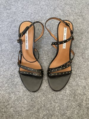 & other stories Strapped Sandals black-gold-colored