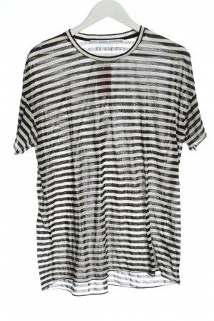 & other stories Stripe Shirt black-white striped pattern casual look