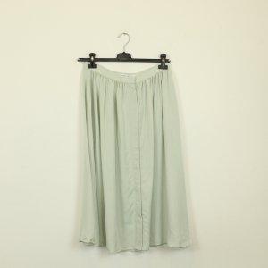 & other stories Spódnica midi szaro-zielony Lyocell