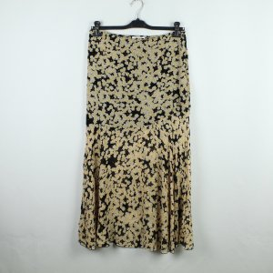 & other stories Maxi Skirt black-yellow viscose