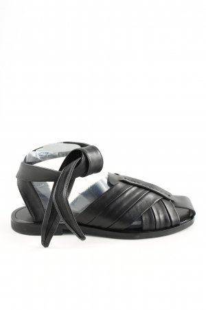 & other stories Roman Sandals black casual look