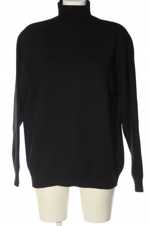 & other stories Turtleneck Sweater black casual look