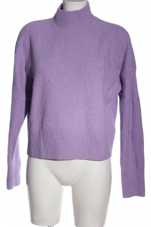 & other stories Turtleneck Sweater lilac casual look