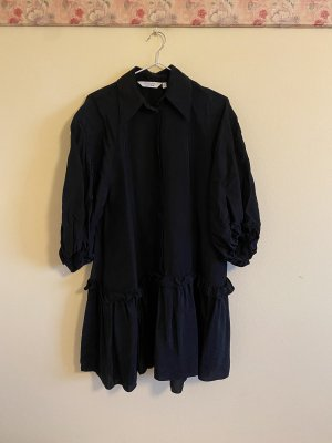 Other Stories Ruffled Black Dress