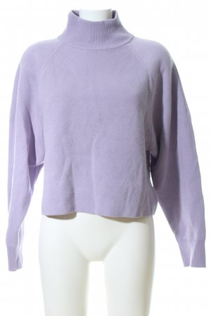 & other stories Crewneck Sweater lilac casual look