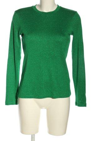 & other stories Sweter z okrągłym dekoltem zielony W stylu casual