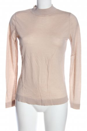 & other stories Rundhalspullover creme meliert Casual-Look