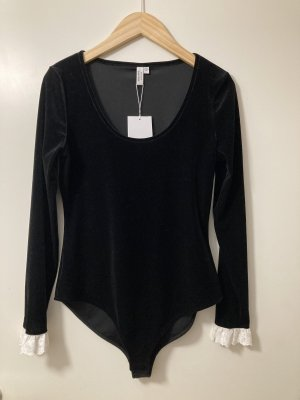 & other stories Shirt Body black-white