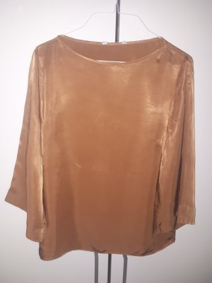 &other Stories Satin Top Caramel