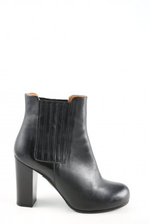 & other stories Wciągane buty za kostkę czarny W stylu biznesowym