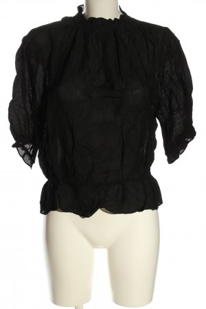 & other stories Blusa caída negro look casual