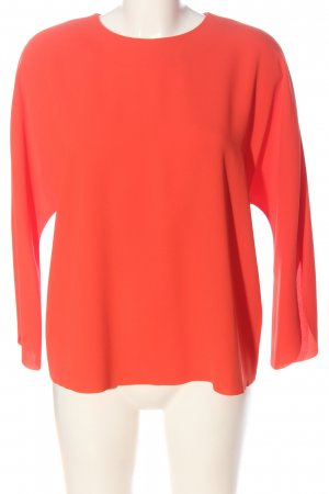 & other stories Blusa caída rojo look casual