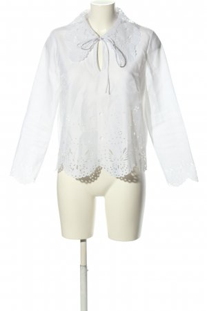 & other stories Slip-over Blouse white business style