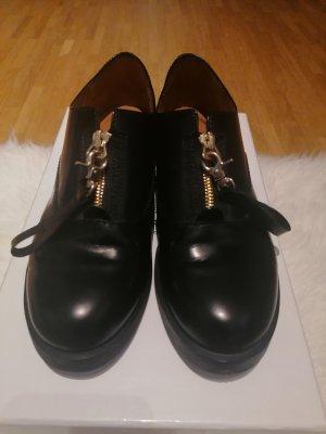 & other stories Zapatos estilo Oxford negro Cuero