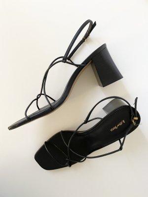 & other stories Sandalo con cinturino e tacco alto nero
