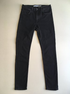 & other stories Jeansy z prostymi nogawkami czarny