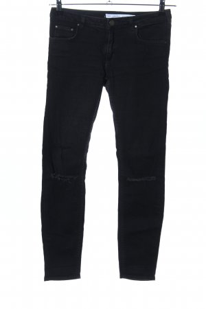 & other stories Skinny Jeans schwarz Casual-Look
