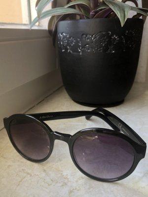 & other stories Round Sunglasses black-grey violet