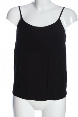 & other stories Top de tirantes finos negro look casual