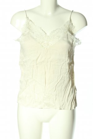 & other stories Lace Top natural white casual look