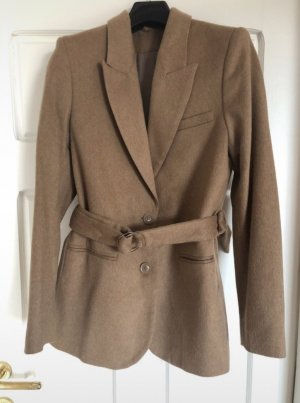 & other stories Stockholm Atelier Lang Blazer in camel Farbe in Gr XS