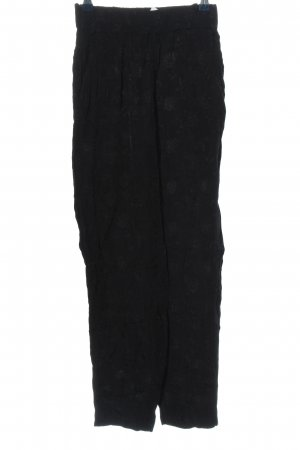 & other stories Stoffhose schwarz Casual-Look