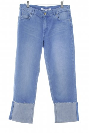 & other stories Straight-Leg Jeans kornblumenblau Vintage-Look